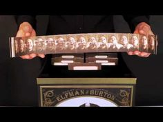Zoetrope Strips Horses | has spinning metal zoetrope to interact with 12 printed film strips ...