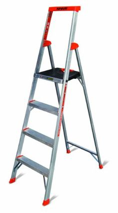Flip-N-Lite 300-Pound Duty Rating Platform Stepladder, 6-Foot Little Giant Ladder Systems http://www.amazon.com/dp/B0043WP52O/ref=cm_sw_r_pi_dp_41I2tb07TQVJDQRT