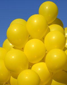 #yellow #balloons