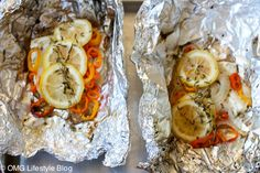 Halibut in Foil Packets End result of grilled halibut in foil packets - delicious!End result of grilled halibut in foil packets - delicious! Grilling Recipes, Pork Recipes, Fish Recipes, Seafood Recipes, Cooking Recipes, Foil Packet Dinners, Foil Packets, Grilled Halibut Recipes, Baked Fish