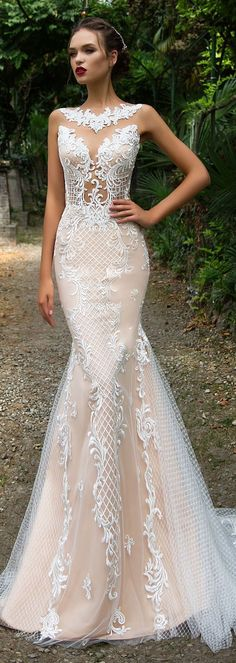 Wedding Dress by Milla Nova White Desire 2017 Bridal Collection - Salma #weddingdress
