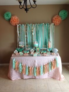 Under the Sea/ Mermaid Birthday Party Ideas | Photo 28 of 55 | Catch My Party