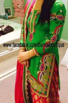 designer punjabi suits www.facebook.com/baneeboutique