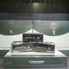 Kami merupakan Agen Resmi Crystal X Nasa, anda bisa melakukan pemesanan produk dan konsultasi seputar produk Nasa.