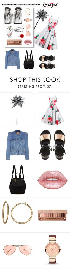 """""""ROSEGAL#POLYVORE#CONTEST#DRESS#VINTAGE#FLOWER#FLORAL#VACATION"""" by luciboys ❤ liked on Polyvore featuring WALL, Balenciaga, ASOS, Marc Jacobs, Lime Crime, BOBBY, Urban Decay, J.Crew, Movado and vintage"""