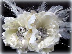 Bridal Birdcage Veil Set 9Veil with Silk by svitlanasbridalveils, $75.95