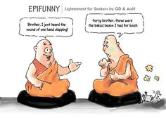 spiritual humor | Published December 20, 2012 at 573 × 409 in Epifunny #5: The Sound of ...