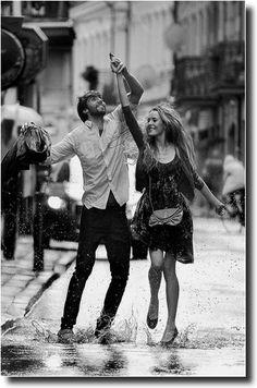 Romance things: Dance under the rain