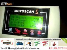Máy đọc lỗi xe máy Motoscan, video hướng dẫn thợ khảo sát thông số hiện hành