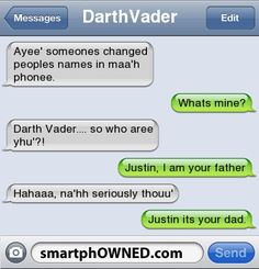I am your fatherrrr