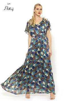 ΦΟΡΕΜΑ - silkycollection.gr Dresses, Fashion, Vestidos, Moda, Fashion Styles, Dress, Dressers, Fashion Illustrations, Flower Girl Dress