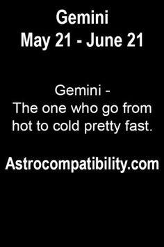 Gemini - The one who go.....   AstroCompatibility.com