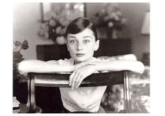 Audrey Hepburn (1929-1993), a British actress and humanitarian, was quickly becoming one of the biggest stars in Hollywood, receiving the Golden Globe for World Film Favorite – Female in 1955, but also a major fashion influence. Her gamine and elfin appearance and widely recognised sense of chic were both admired and imitated. In the autumn of 1954 she married American actor Mel Ferrer. while preparing to star together in the film War and Peace.