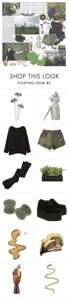 """""""// I am human and I need to be loved  Just like everybody else does \\"""" by monstergirlxjpg ❤ liked on Polyvore featuring Royal Copenhagen, rag & bone, Lux-Art Silks, PèPè, Underground, Authentic Models, white, black, GREEN and grey"""