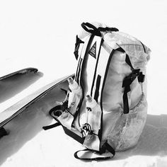 Prototype T E S T I N G... CIMORO - Dyneema Alpine P A C K  #dsmg #futuremastercraftsmen #undercoverism #visvim #whitemountaineering #backcountry #snow #savilerow #tailoring #sportswear #handmade #madeinlondon #cubenfiber #dyneema #backcountry #snowsports #ski #snowboard #pant #backpack #ultralightbackpack #ultralight #キューベンファイバー #市 #山 #道 #スノーボード #スキー #職人 #テーラー #登山