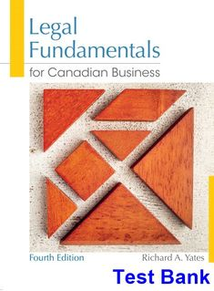 Solution manual of fundamentals of physics textbook 10th edition test bank for legal fundamentals for canadian business canadian 4th edition by yates ibsn 9780133370287 fandeluxe Image collections