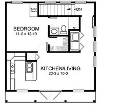 1000 images about garage plans on pinterest garage for Small house over garage plans