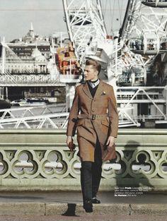 Max Rendell by Daniel Riera for GQ Italia