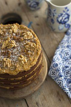 Llevo años soñando con hacer esta receta de Pastel German Chocolate Cake y nunca se me ocurría hacerla en el momento adecuado...es de esas recetas que tienes unas ganas enormes y cuando la recuerdas has hecho otra y te arrepientes...