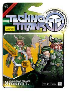 "Techno Titans toybox ""Erik Bolt"""