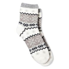 • Acrylic, polyester and spandex fabric is super soft and cozy<br>• Heavyweight design keeps you warm and dry<br>• Crew cut style gives you added coverage<br>• One size fits most feet<br><br>Keep your tootsies toasty with these Women's Crew Double Lined Cozy Socks by Xhilaration™. Perfect for chilly days, these socks look great with a variety of shoe and boot styles.