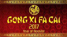 Gong Xi Fa Cai 2017 - Happy Chinese New Year Wallpaper