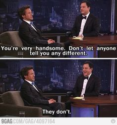 Awesome Robert Downey Jr. is awesome. Again.