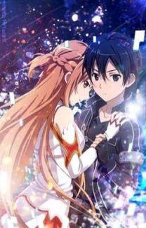 Asuna and Kirito - Anime Paare Sword Art Online Asuna, Sao Anime, Manga Anime, Anime Eyes, Animé Romance, Schwertkunst Online, Espada Anime, Sword Art Online Wallpaper, Kirito Asuna