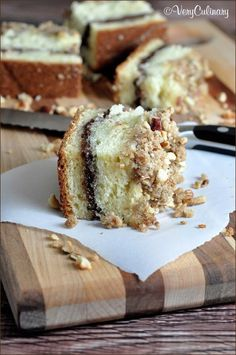 Chocolate-Hazelnut Coffee Cake