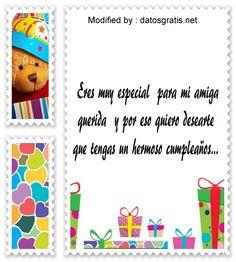 textos de feliz cumpleaños para enviar,textos de cumpleaños para enviar por Whatsapp: http://www.datosgratis.net/increibles-saludos-de-cumpleanos-para-mi-amigo/
