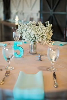 Aqua Winter Wedding in Florida|Photographer: Jenna Michele Photography