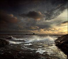 Storm Light - Elie Fife Scotland