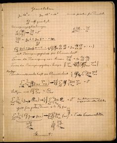 Pages from Albert Einstein's notebook      I want to wad them up and eat them, and absorb every genius nutrient into my own self.