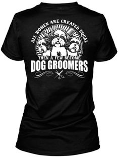 A few Women become Dog Groomers!