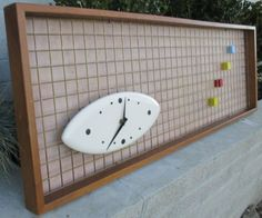 VTG-PETER-PEPPER-MATRIX-WALL-CLOCK-MID-CENTURY-MODERN-RETRO-ATOMIC-50s-60s-70s Art Deco Home, Clocks, Mid-century Modern, Pepper, Mid Century, House Design, Antiques, Wall, Ebay