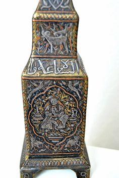 Antique CANDLESTICK Rare Mamluk Veneto by alltravelerstore
