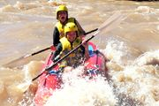 RIVER RAFTING near Cradock   One-to-four day rafting trips are available on newly-acquired rafts. The rafting takes place over the Fish River Marathon course as well as on the Brak and Teebus rivers. Rapids on all the courses range from grade 1 to 4.   Each trip is organized to meet the individual needs of visitors. All trips are overseen by qualified guides trained and affiliated to the African Paddling Association (APA). Grade 1, Rafting, Rivers, Marathon, Trips, African, Meet, Range, Fish