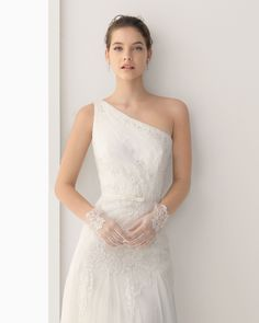 We've always said that a second time bride should feel every bit as feminine and beautiful as a first time bride. We found plenty of dresses we think deliver on that goal in the Rosa Clara 2014 collection.