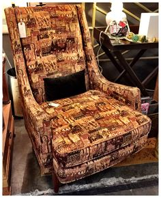 Vintage Drexel Chair, $249. Gaslamp Antiques Too, T2012.