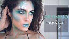 Inspiration und Accessoires: Meerjungfrau Makeup Tutorial | Kostüm-Idee zu Karneval, Halloween & Fasching