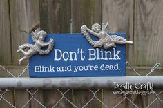 Doodle Craft...: Doctor Who Week #3: Don't Blink!