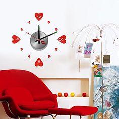 DIY+Wall+Sticker+Clock+(0752-10A029)+–+AUD+$+17.70