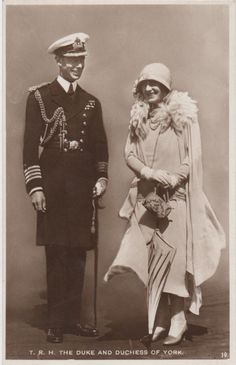 King George VI and Queen Elizabeth Lady Elizabeth, Princess Elizabeth, George Vi, Duchess Of York, Duke And Duchess, Emperor Of India, Rule Britannia, Queen Mother, English Royalty