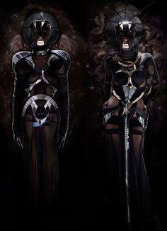 Darkly Futuristic Fashion