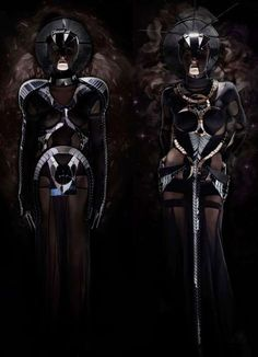 Darkly Futuristic Fashion
