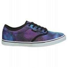 703bc3109a Vans Women s Atwood Low Sneakers (Blue Black White) Skate Shoes