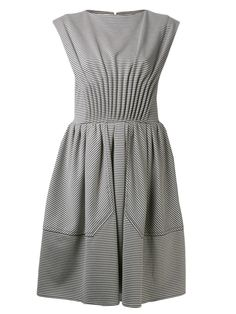 CARVEN jersey stripe dress
