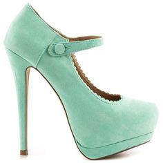 Violett - Mint by JustFab #ShopPolyvore for summer party must-haves!