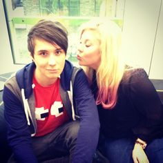 Dan and Louise are so adorable together. They are hilariously awkward