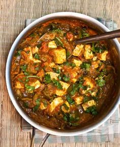 Kadai Paneer | Spiced Cottage Cheese with Green Bell Peppers